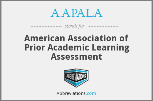 AAPALA - American Association of Prior Academic Learning Assessment