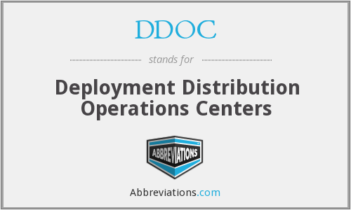 What does DDOC stand for?