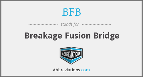 BFB - Breakage Fusion Bridge