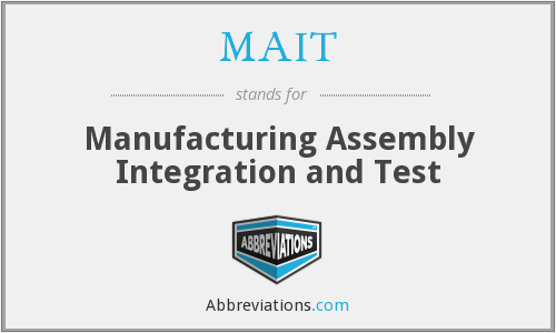 What does MAIT stand for?