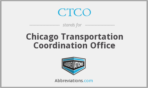 CTCO - Chicago Transportation Coordination Office