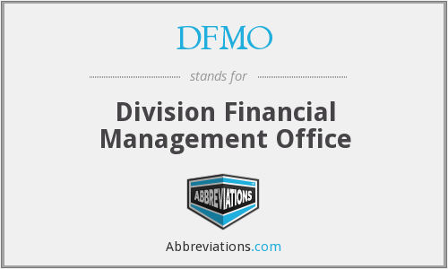 What does DFMO stand for?