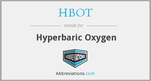 What does HBOT stand for?