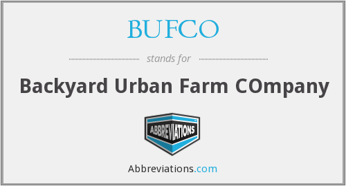 What does BUFCO stand for?