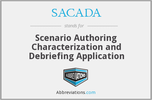 What does SACADA stand for?