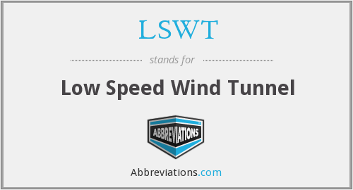 What does LSWT stand for?