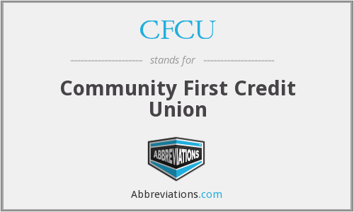 CFCU - Community First Credit Union