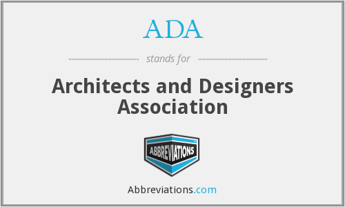 ADA - Architects and Designers Association
