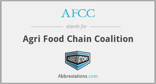 AFCC - Agri Food Chain Coalition
