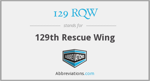 129 RQW - 129th Rescue Wing