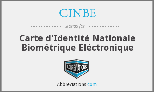 What does CINBE stand for?