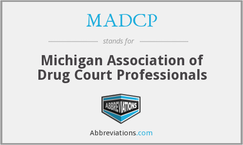 What does MADCP stand for?