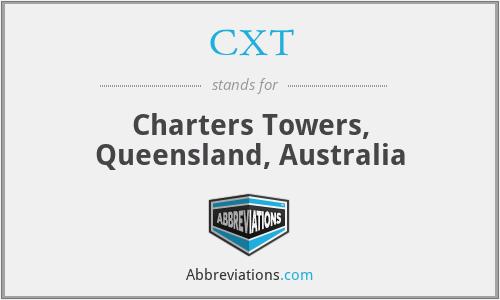 CXT - Charters Towers, Queensland, Australia