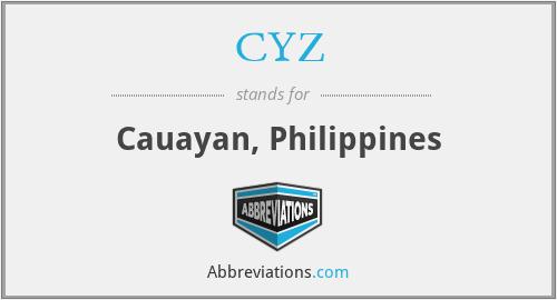 CYZ - Cauayan, Philippines