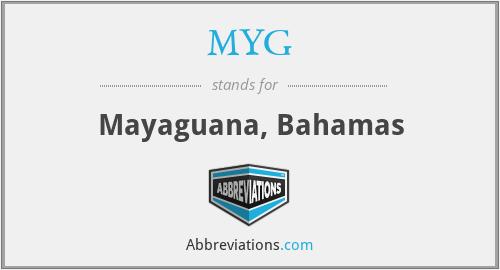 MYG - Mayaguana, Bahamas