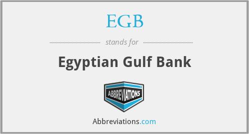 EGB - Egyptian Gulf Bank