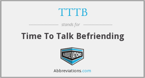 What does befriending stand for?