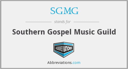 SGMG - Southern Gospel Music Guild