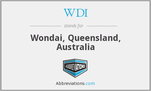 WDI - Wondai, Queensland, Australia