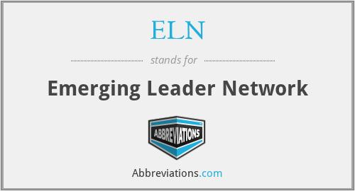ELN - Emerging Leader Network