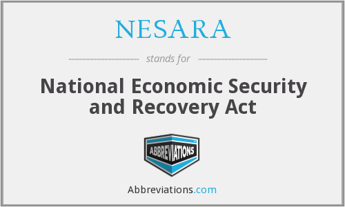 NESARA - National Economic Security and Recovery Act