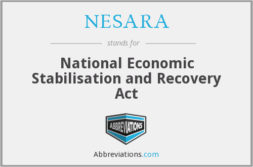NESARA - National Economic Stabilisation and Recovery Act