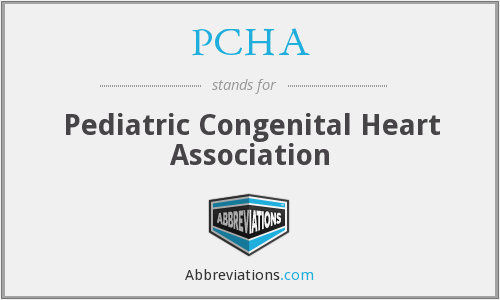 PCHA - Pediatric Congenital Heart Association