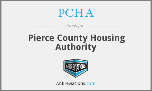 PCHA - Pierce County Housing Authority
