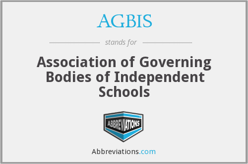 What does AGBIS stand for?