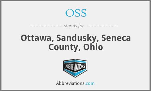 OSS - Ottawa, Sandusky, Seneca County, Ohio