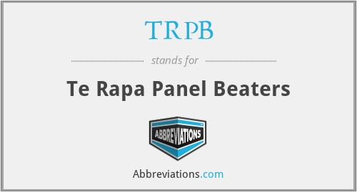 TRPB - Te Rapa Panel Beaters