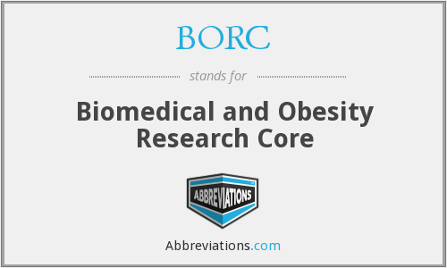 What does BORC stand for?