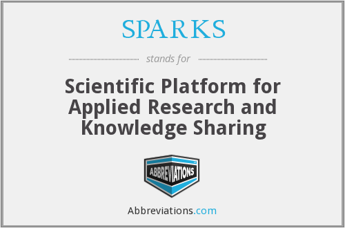 SPARKS - Scientific Platform for Applied Research and Knowledge Sharing