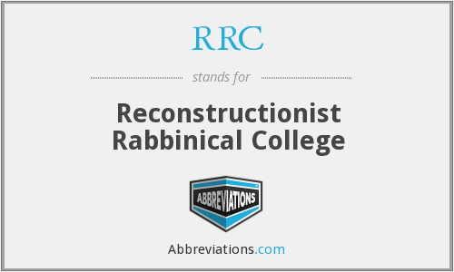 RRC - Reconstructionist Rabbinical College