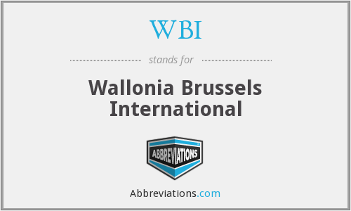 WBI - Wallonia Brussels International