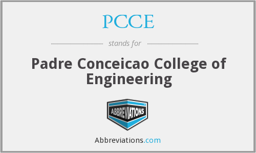 PCCE - Padre Conceicao College of Engineering