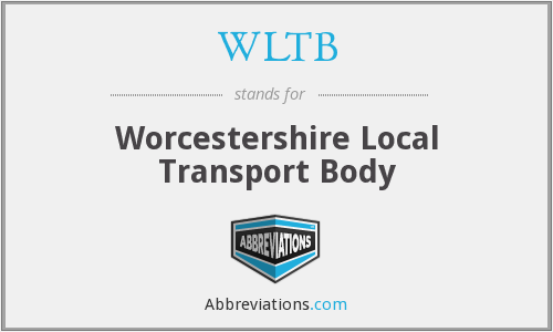 WLTB - Worcestershire Local Transport Body