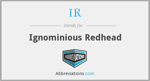 What does ignominious stand for?