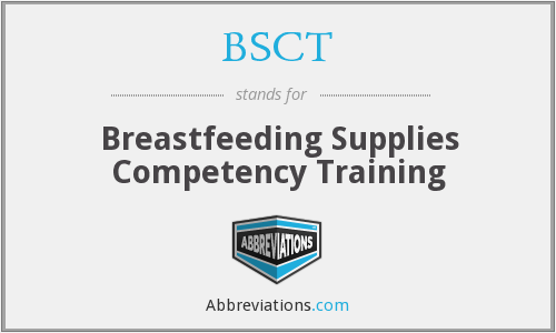BSCT - Breastfeeding Supplies Competency Training