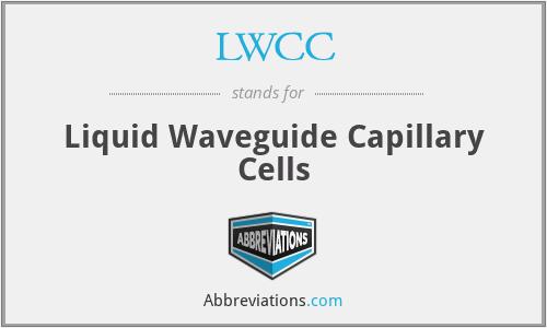 LWCC - Liquid Waveguide Capillary Cells