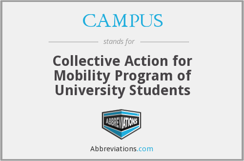 CAMPUS - Collective Action for Mobility Program of University Students