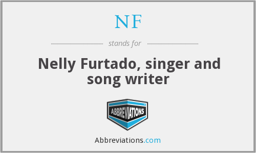 NF - Nelly Furtado, singer and song writer