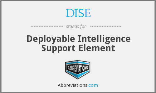 What does DISE stand for?