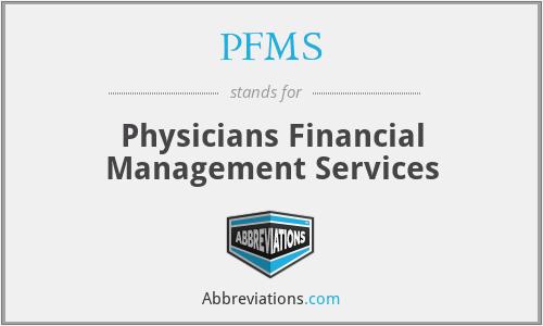 PFMS - Physicians Financial Management Services