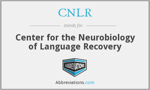 What does CNLR stand for?