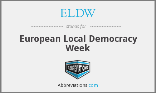 What does ELDW stand for?