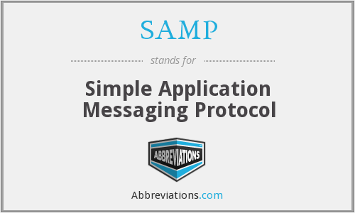SAMP - Simple Application Messaging Protocol