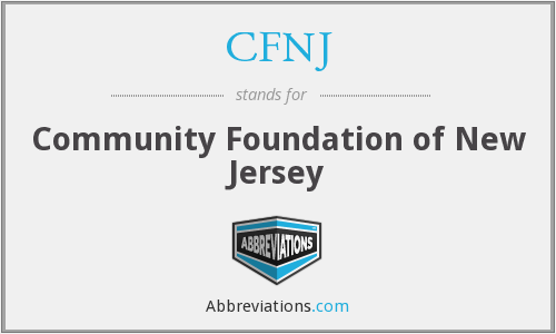 What does CFNJ stand for?