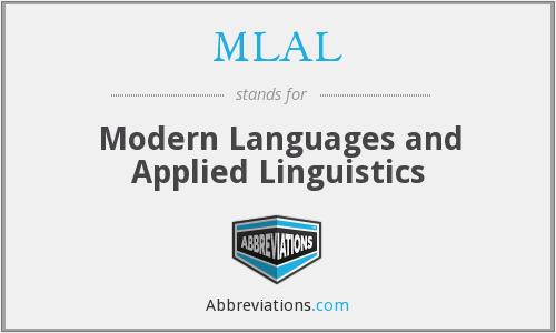 What does MLAL stand for?