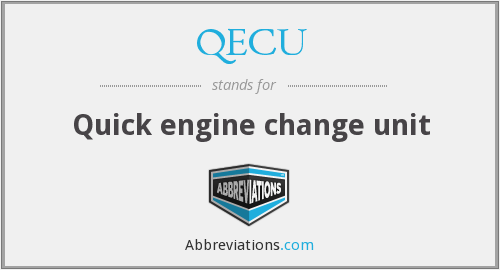What does QECU stand for?